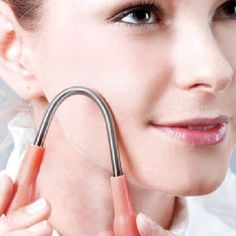 Delicate Facial Hair Epicare Spring Remover  depilator Threading Beauty Tool Hair Threader Body Hair Removal Threading Tool