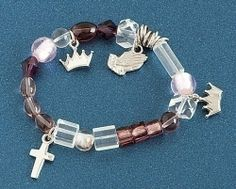 """Roman Inc. NEW Lord's Prayer (The) Bracelet - Large - 7-7 1/2"""" - Christ's His Story 62347: Watches: Amazon.com"""