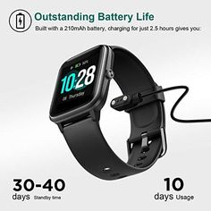 Letsfit Smart Watch, Fitness Tracker with Heart Rate Monitor, Activity Tracker with Touch Screen, Waterproof Pedometer Smartwatch with Sleep Monitor, Step Counter for Women and Men – Abro Fitness Watches For Men, Activity Tracker Watch, Life Hackers, Ios Phone, Thing 1, Ios 8, Heart Rate Monitor, Android 4, Fitness Tracker