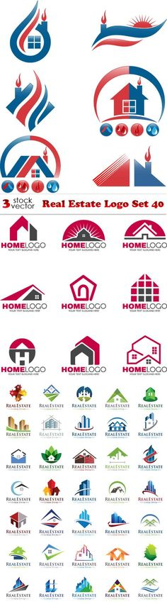 Vectors - Real Estate Logo Set 40                              …