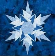 Ice Crystal quilt block by Eileen Fowler. Quiltmaker's 100 Blocks ...