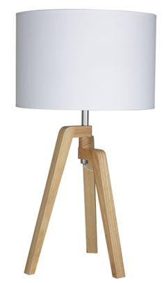 Timber Tripod Table Lamp
