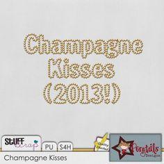 January BAK: Champagne Kisses Alpha by Ponytail Designs