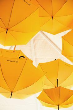 It's raining Clicquot umbrellas