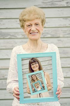 Generational Photo  Plus 7 other DIY gifts for your grandma.
