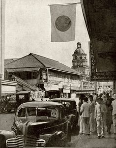 1943 Manila during the Japanese Occupation Philippines Culture, Manila Philippines, Ww2 Photos, Cool Photos, Interesting Photos, Bataan Death March, Philippine Architecture, Treaty Of Paris, President Of The Philippines