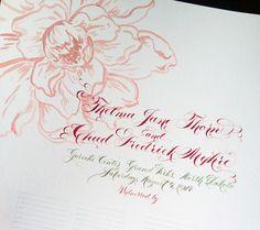 #Guestbook #E.Danae #Wedding Certificate