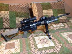 RRA Tactical Operator 2, Burris AR-332, Magpul STR & MOE+, Grip-Pod, Surefire, LaserLyte K-15 Green Laser
