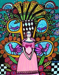 Frida Kahlo Calla Lillies Mexican Tree Of Life by HeatherGallerArt, $16.00