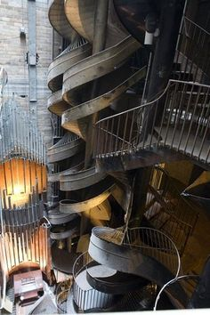 City Museum in St Louis - only one of the coolest places/playgrounds ever !