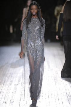 Ethereal metallics at Theyskens' Theory Fall '12