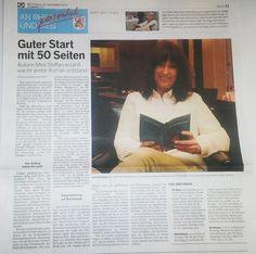 """Und wieder eine super Rezi zu unserem Roman """"Erst mal 49 werden"""" von Mira Steffan."""