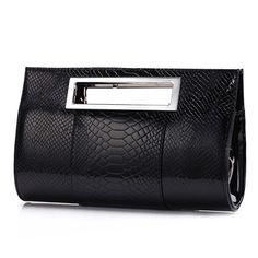 Stylish Alligator design leather clutch bag Price: $22.42 & FREE Shipping Get one here https://www.redhillfashion.com/product/stylish-alligator-design-leather-clutch-bag/     #slingbags #totebags #clutchbags