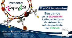 Visítanos a partir de mañana en expo Tlaqueparte en el Centro Cultural el Refugio.