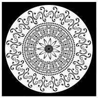 Mandala Nº 8 Meditacion Para Colorear