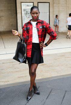 Funmi Okusi Style at New York Fashion Week, Day 2 #scriptsandsightings #blackstyle