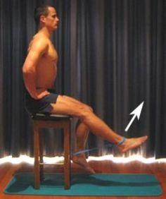 Quad Strengthening Exercises for Bad Knees - Faydalı Bitkiler Quad Exercises, Knee Exercises, Resistance Band Exercises, Quadriceps Strengthening, Quad Strengthening, Yoga, Fitness Diet, Health Fitness, Workout Fitness