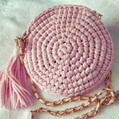 Penye İpten Örgü Çanta Modelleri 63 Pouch, Wallet, Knitted Bags, Crochet, Straw Bag, Coin Purse, Purses, Knitting, Fabric