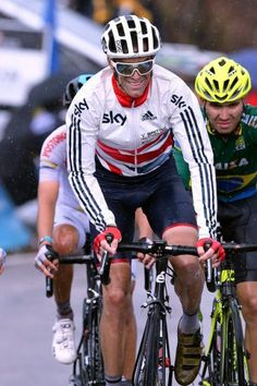 Worlds 2014 David Millar was honoured in his final by being handed the captaincy of the Great Britain team Photo credit © Tim de Waele/TDW Sport