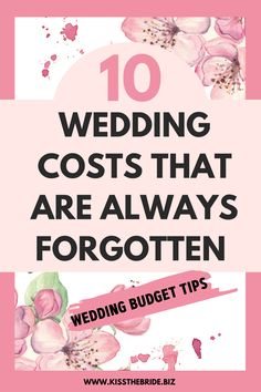 If your creating your wedding budget, the details are so important. Failing to include costs can put your wedding budget under huge financial strain. These wedding costs are the most overlooked. Wedding Budget List, Wedding Planning On A Budget, Wedding Costs, Wedding Advice, Post Wedding, Plan Your Wedding, Wedding Prep, Wedding Ideas, Last Minute Wedding