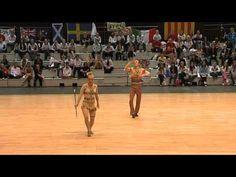 world baton twirling championship 2010 - senior pairs finals - italy @Melissa Tyson