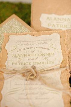 Celtic Invitations