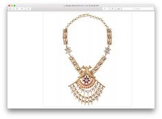 mayura necklace