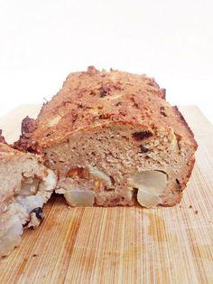 Kwarkbrood met peer. Skinny & gezond. Zeg maar dag tegen je buikje!