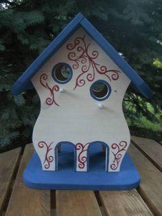 Nistkästen & Vogelhäuser - Großes Vogelhaus, Nistkasten Vogelvilla. Vogelhäus - ein Designerstück von spyke-1970 bei DaWanda
