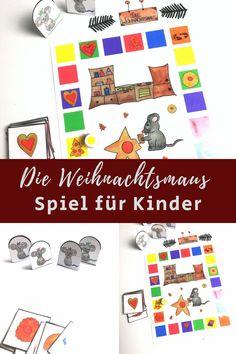 Die Weihnachtsmaus, In Kindergarten, Diy For Kids, Games, Winter, Diy, Kindergarten Games, Children Laughing, Kids Day Out