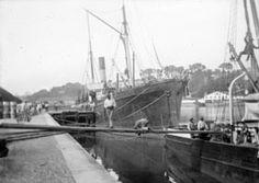 Type : image  Port de Bayonne, octobre 1897
