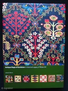 Burns James D.: Antique Rugs of Kurdistan: A Historical Legacy of Woven Art, Seattle, 2002 (hardcover with dust jacket). As new condition, in original box.
