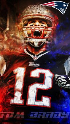 iPhone Wallpaper HD Tom Brady Super Bowl
