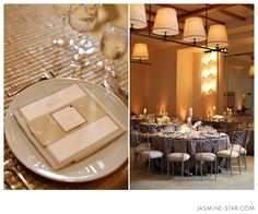 Tech Tips : Wedding Reception Lighting - Jasmine Star Blog   Left photo: 50mm f/2.0 1/60 640ISO (only off-camera flash used)  Right photo: 50mm f/2.5 1/100 640ISO (only off-camera flash used)   I always place the light toward the dancefloor since that's where most of the evening's events take place and I don't move it for the rest of the evening.