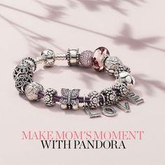 ¡Hermosos momentos con mamá y #Pandora! #LoveMom