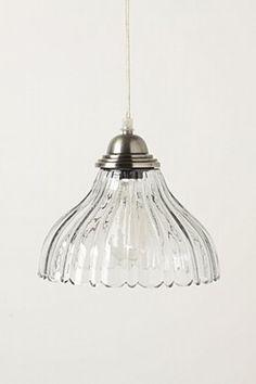 salcombe pendant lamp @ anthropologie: pretty glass pendant lamp