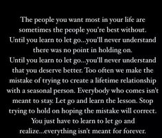 The people in your life .. (True story)
