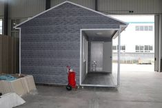 """A """"micro home """" for temporary accommodation or long term ."""