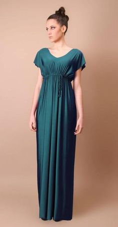 Abito lungo, taglio impero // Long, beautiful dress by byalislab via it.dawanda.com