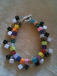 Bunco Dice Bracelet by freebird2nd