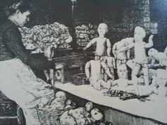Late 19th century balljointed doll factory Emile Jumeau. Visit us at http://Theriaults.com/