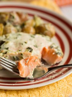 You won't believe how three ingredients can come together to make this amazing Baked Spinach Dip Salmon dinner recipe!