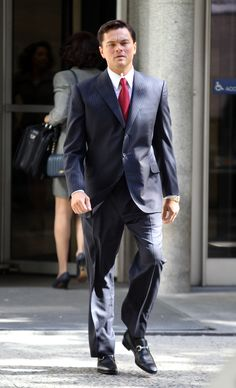 Leonardo di Caprio wearing the Gucci Horsebit Loafer