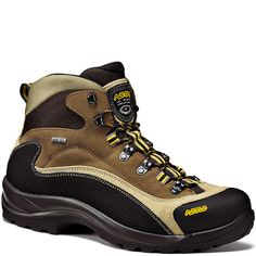 low priced a8def 69db6 0M3100 555 Asolo Men s FSN 95 GTX Wide Hiking Boots - Wool Sand Asolo  Hiking Boots
