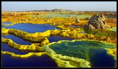 On Earth Day, These Photos Remind Us Just How Little We Know Of The Planet We Call Home-Dallol Volcano, Ethiopia