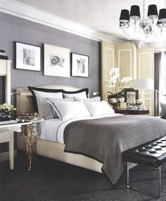 David Jimenez-Kansas City 1923 Beaux Arts building bedroom. Image AD