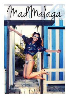 Una de nuestras camisas hawaianas en el número de agosto de Mad about Málaga ;)