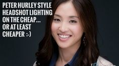 Take Beautiful Headshots à la Peter Hurley with a Cheap Lighting Setup