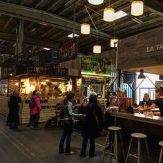Very cool concept of an indoor street food market with 20 different booths offering specialities from Middle East Latin America Scandinavia France Asia... Great vibe and it must be amazing during summertime ! #food #gregwasthere #instagram #denmark #cph #copenhagen #streetfood #foodmarket #concept