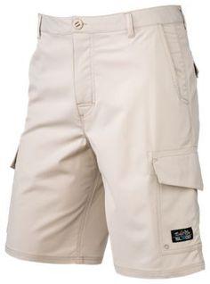 Salt Life La Vida SLX-QD Shorts for Men - Khaki - 32